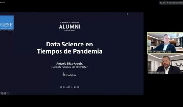 Conferencia Alumni: Data Science en tiempos de pandemia